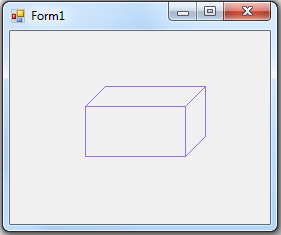 How To Draw An Empty 3d Box Frame Winforms In C Collective Solver