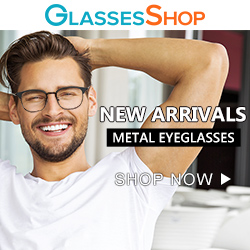 New Arrival!  Shop NOW for metal eyeglasses at GlassesShop.com!