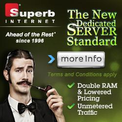 Dedicated Hosting Superb Internet
